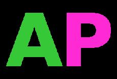 Akustik plastik logo začetnice